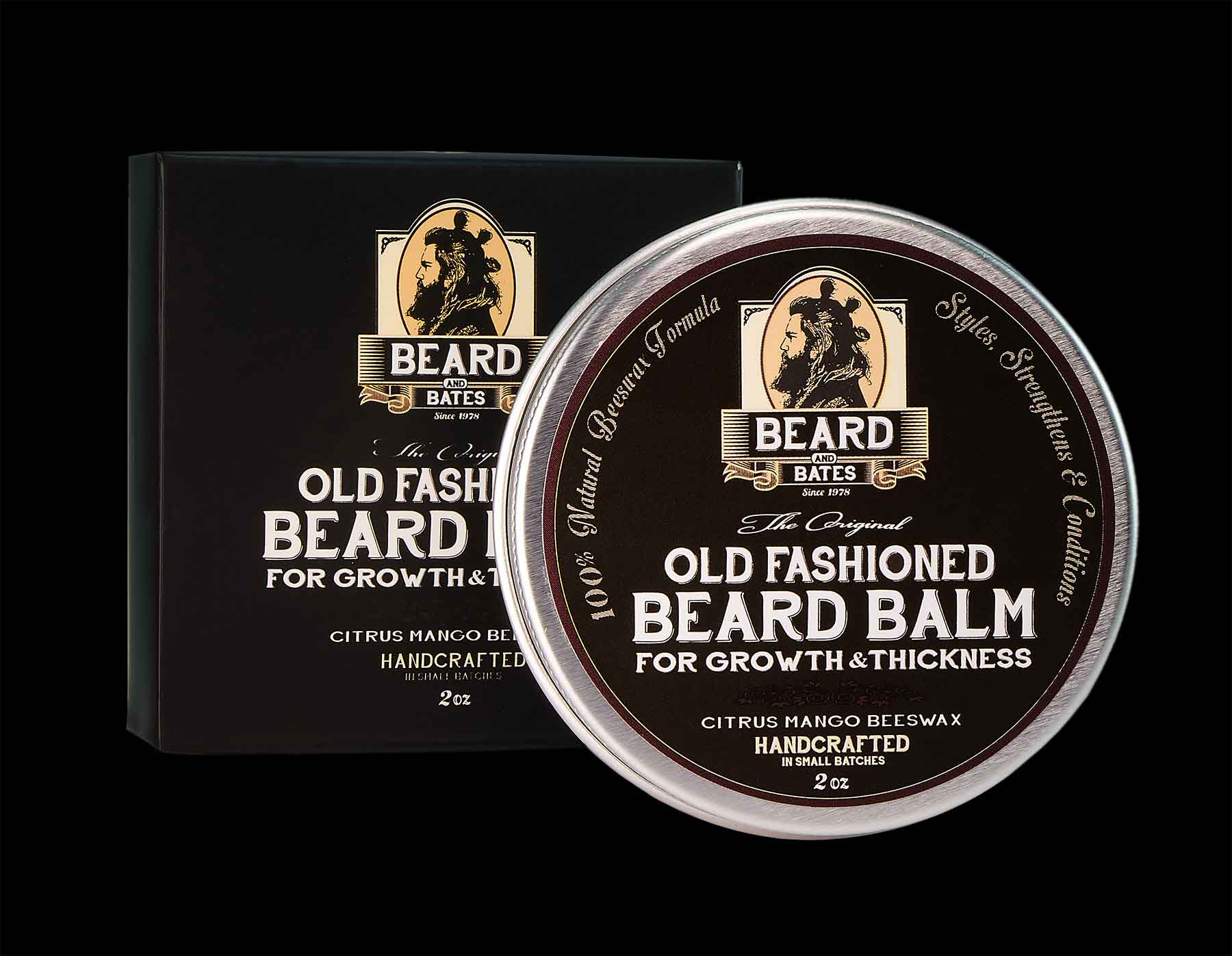 beard balm growth thickness oil old fashioned