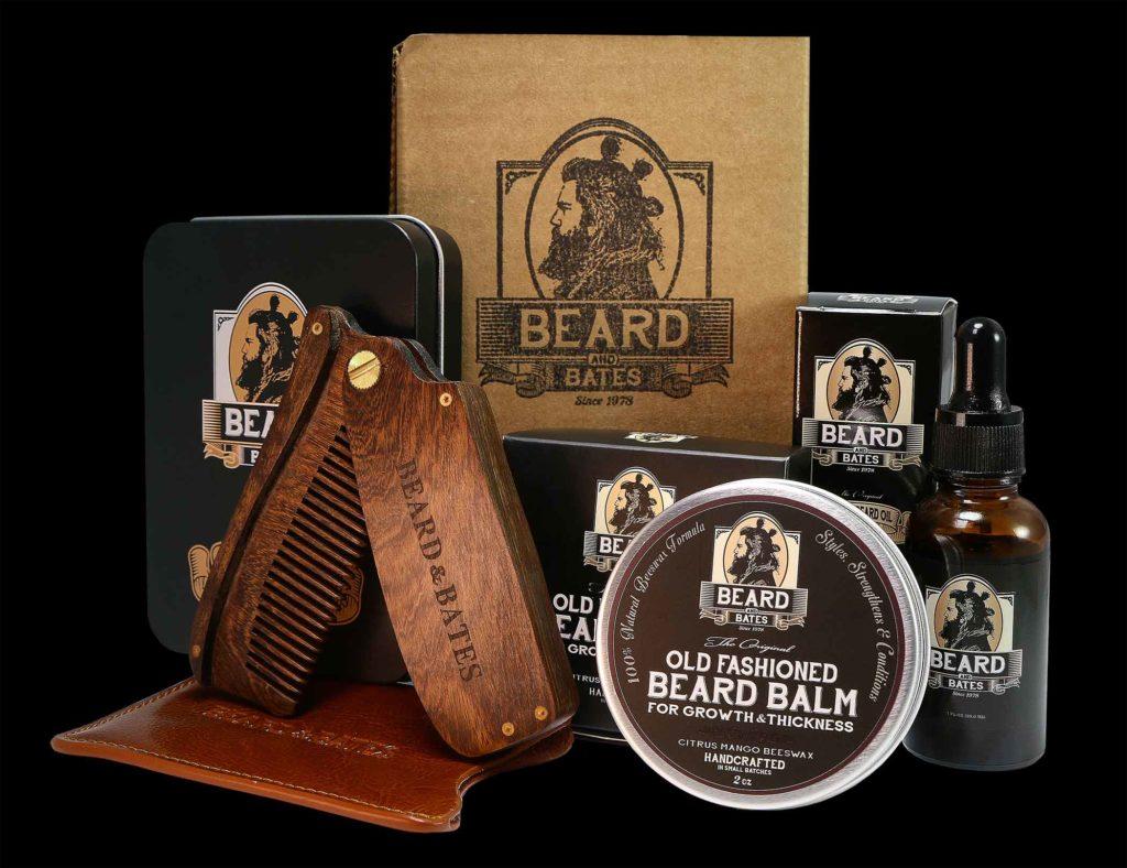 BEARD & BATES - GROOMING ESSENTIALS KIT