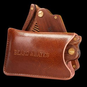 LEATHER POUCH - FOR SANDALWOOD SWITCHBLADE COMB