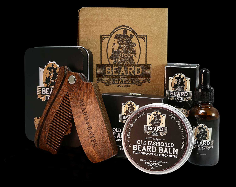 beard and bates grooming essentials beard kit. Black Bedroom Furniture Sets. Home Design Ideas