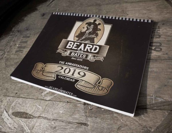 The Beard & Bates 2019 Brand Ambassadors Wall Calendar is filled with 12 months worth of all the sexy Beard & Bates Brand Ambassadors that you can handle. Made in USA. Limited Edition. Small Run