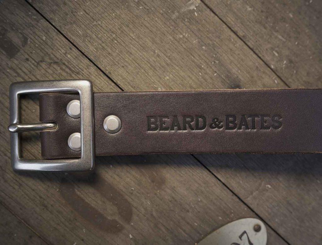 stuart belt american beard leather bridle strap